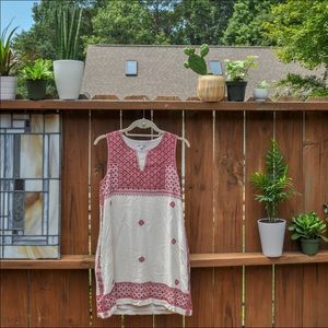 Madewell Maroon Embroidered Sundress sz 4